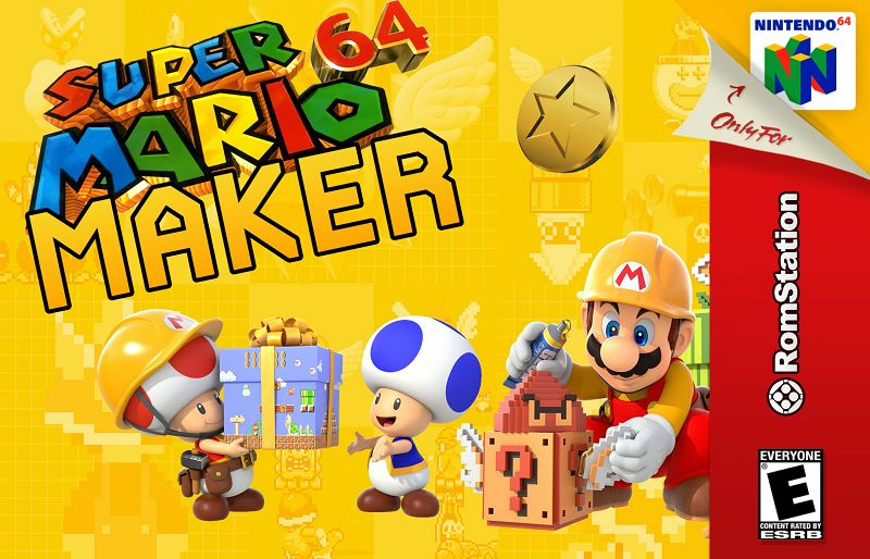 Super Mario 64 Maker