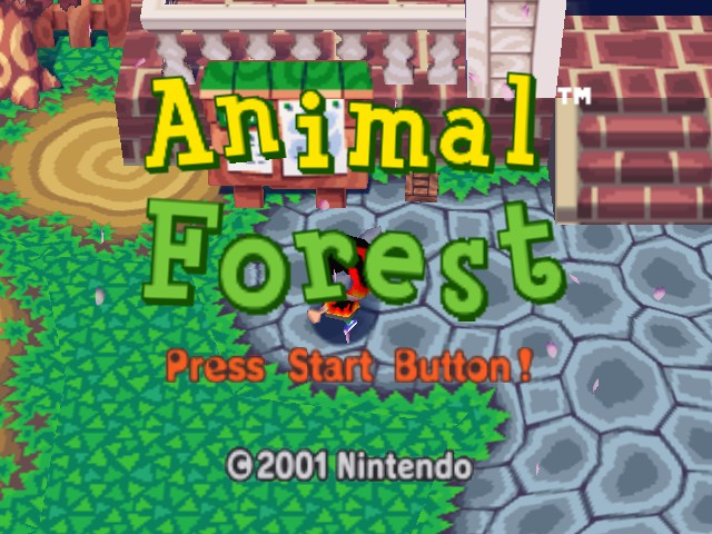 Animal Crossing Animal Forest