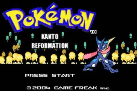 Pokemon Kanto Reformation (GBA)