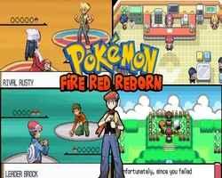 Play Pokemon Fire Red Reborn (GBA)