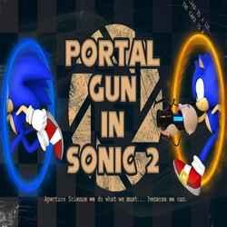 Portal Gun in Sonic 2