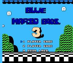 Blue Mario Bros. 3