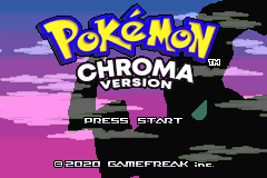 Pokemon Chroma – GBA