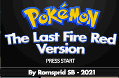 Pokemon The Last Fire Red