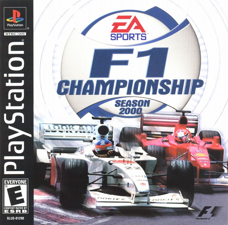 F1 Championship Season 2000 (USA) – PS1