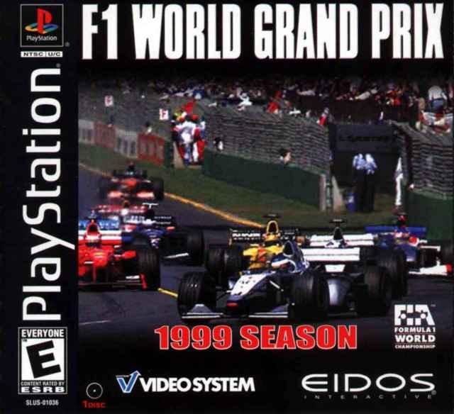 F1 World Grand Prix – 1999 Season (USA) – PS1