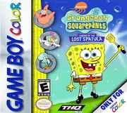 SpongeBob: Legend of the Lost Spatula (Gameboy Color)