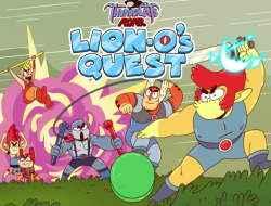 Play ThunderCats Roar Lion-O's Quest