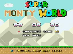 Super Monty World – Super Mario World