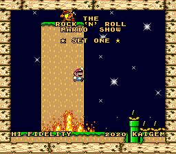 Super Mario World – The Rock 'n' Roll Mario Show: Set 1
