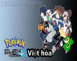 Pokemon Black 2 việt hoá