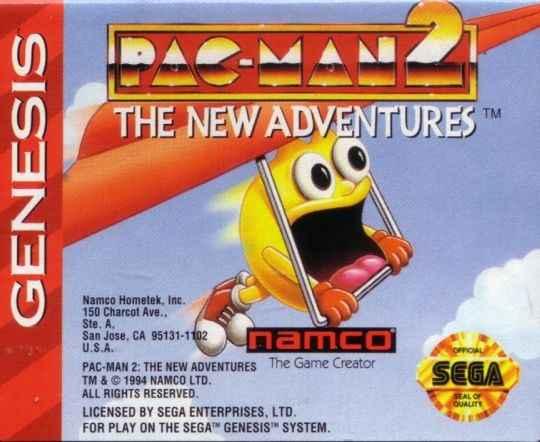 Pac-Man 2 – The New Adventures GEN