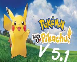 Pokemon Let's Go Pikachu 5.1