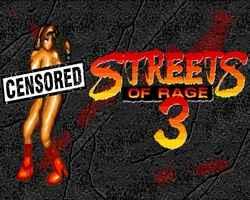Streets of Rage 3 NakedBlaze