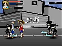 One Piece – Luffy vs CP9
