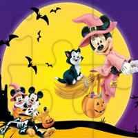 Quebra-cabeças de Halloween da Disney