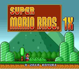 Super Mario Bros. 1X
