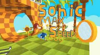 Kogama: Sonic Max speed