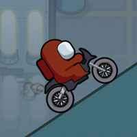 Play Among Us Bike Race