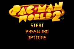 Pac-Man World 2 Online GBA