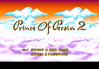 Prince of Persia 2 – The Shadow & The Flame