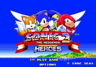 Sonic the Hedgehog 2 Heroes