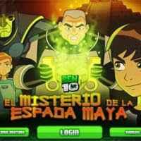 Play Ben 10 O Misterio Da Espada Maia