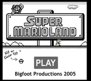 Super Mario Land Bloopers