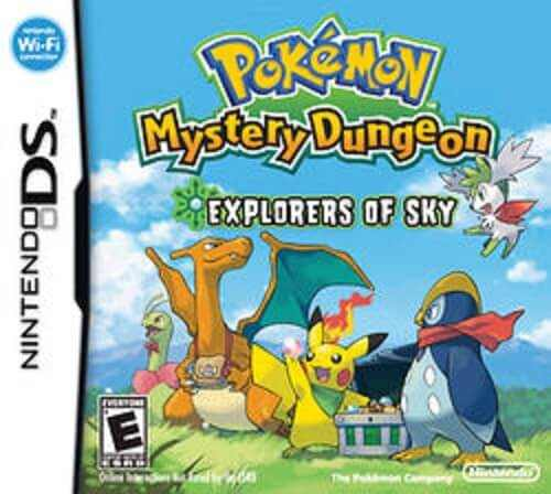 Pokemon Mystery Dungeon Legendary Edition – NDS