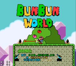 Bunbun World– Super Mario World Hacks
