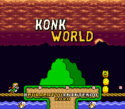 Super Mario World – Konk World