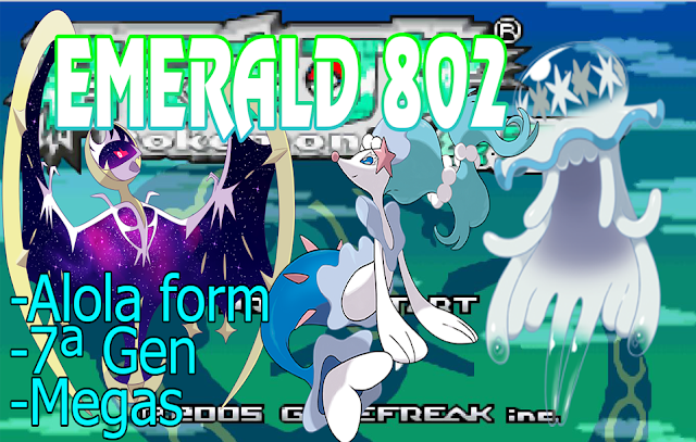 Pokemon Hyper Emerald 802 – GBA