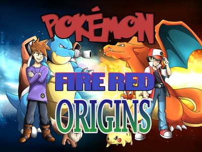 Pokemon Fire Red Origins (GBA)