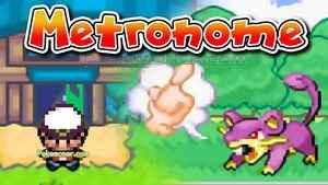 Pokemon Metronome (GBA)