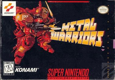 Metal Warriors (USA) – SNES