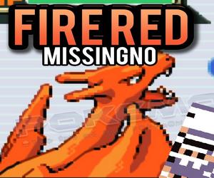 Pokemon Fire Red Missingno (GBA)