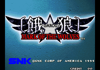 Garou – Mark of the Wolves (NGM-2530)