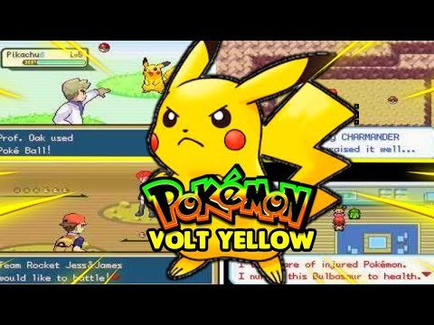 Play Pokemon Volt Yellow: Special Pikachu Edition (GBA)