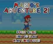 Mario Bros Adventure 2