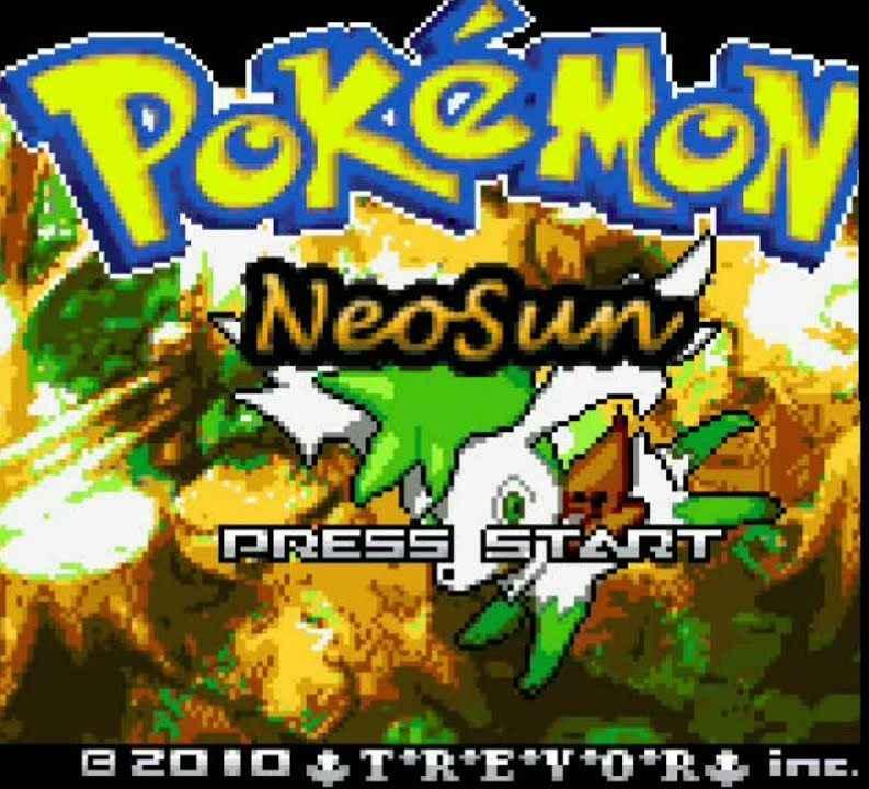 Pokemon Neo Sun (GBA)