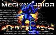 MechWarrior – DOS