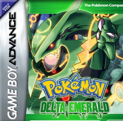 Pokemon Delta Emerald (GBA)
