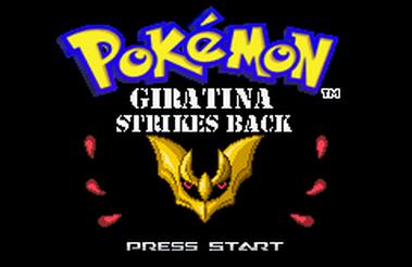 Pokemon Giratina Strikes Back (GBA)