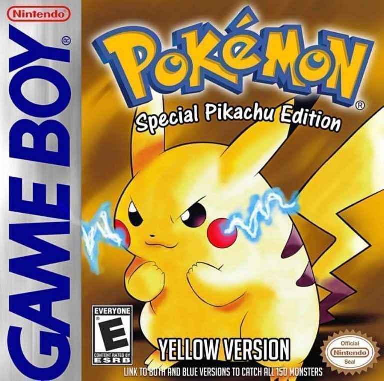 Play Pokémon – Amarelo (Pikachu) Versão GBC