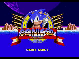 Sonic The Hedgehog : Sonic CD Edition