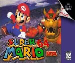 Play Super Mario 64 Beta