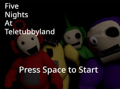 Five Nights at TeletubbyLand Beta Completed