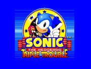 Sonic Triple Trouble SMS (Master System)