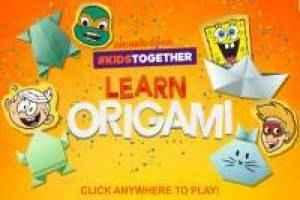 Play Aprenda Origami com a Nickelodeon