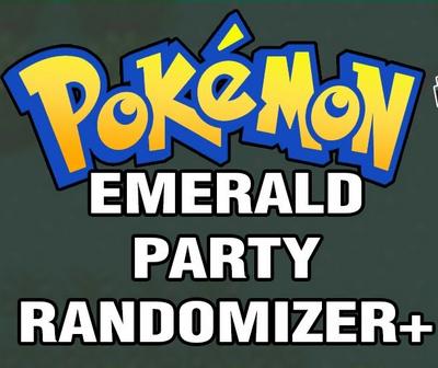Pokemon Emerald Party Randomizer Plus (GBA)